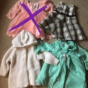 Other - Bundle Baby Girl dresses
